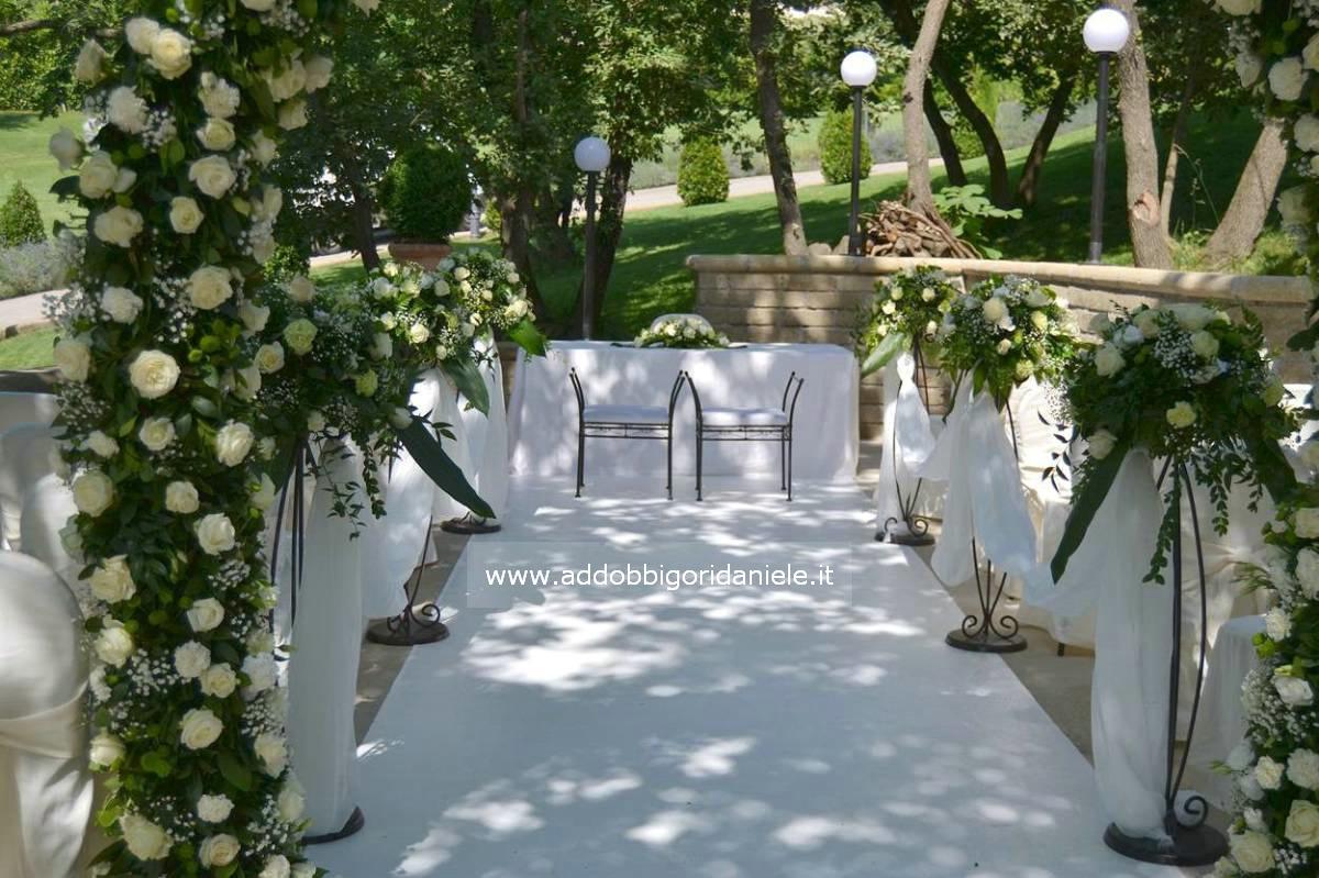 addobbi floreali matrimonio roma