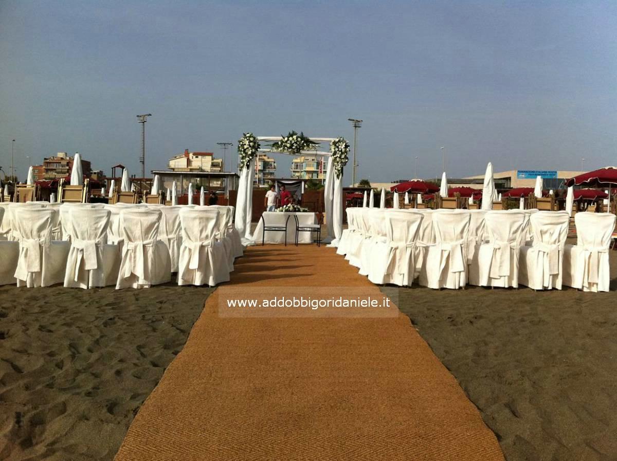 Matrimonio In Spiaggia Roma : Matrimonio in spiaggia ostia fregene terracina addobbi villa