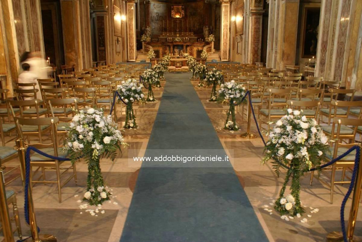 Matrimonio In Romana : Addobbi fiori per matrimonio in chiesa elegant fiorista